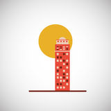 City and Building icon design , vector illustration Stock Photo