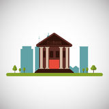 City and Building icon design , vector illustration Royalty Free Stock Photography