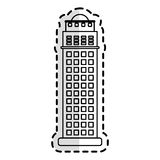 City building icon Stock Photos