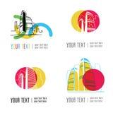 City building logos Royalty Free Stock Photography