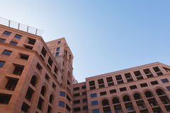 City building. New city centre building with blue sky background Royalty Free Stock Images