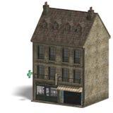 City Building Pharmacy Royalty Free Stock Image