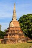 City building remain, Buddha statue remain of Wat Phra Sri Sanphet Temple in Ayutthaya, Thailand (Phra Nakhon Si Ayutthaya&#x Stock Images