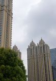 The city building series. Wuhan modern high-grade community Royalty Free Stock Image