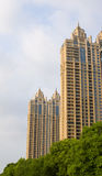 The city building series. Wuhan modern high-grade community Stock Photos