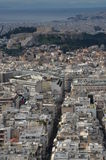 City Buildings in Athens Royalty Free Stock Photography