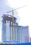 City buildings construction Stock Images