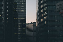 City Buildings during Daytime Royalty Free Stock Images
