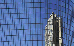 Reflective Modern Buildings Stock Photo