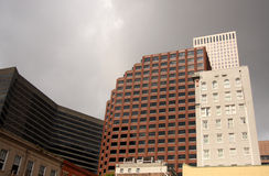 City Buildings Gloomy Day Royalty Free Stock Images