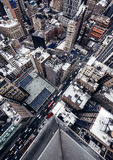 City buildings in New York Stock Photo