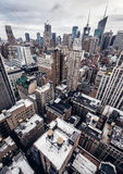 City buildings in New York Royalty Free Stock Photo