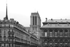 City Buildings, Paris, France Royalty Free Stock Image