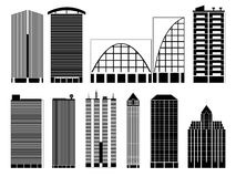 City buildings Stock Photography