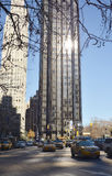 City buildings on the streets of New York day Stock Photography