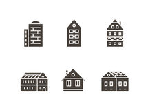 City buildings vector illustration Stock Image