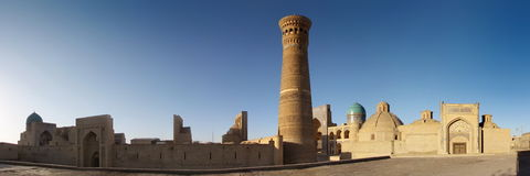 City of Bukhara Royalty Free Stock Photos