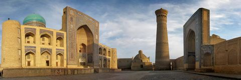 City of Bukhara Stock Photography