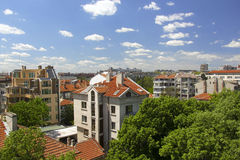 City of Burgas royalty free stock images