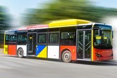 City bus stock photo