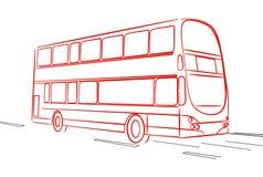 City bus Royalty Free Stock Photos