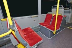 City Bus Interior Royalty Free Stock Photography
