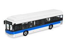 City Bus Isolated Stock Image