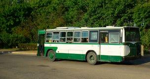 City bus, Pyongyang, North-Korea Stock Photos