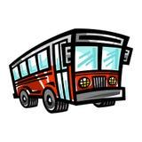 City Bus Transit Vehicle Royalty Free Stock Photo