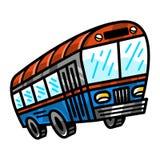City Bus Transit Vehicle Stock Images