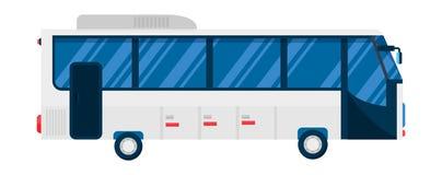 City bus vector illustration. Stock Photos