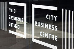 City business center Royalty Free Stock Photography