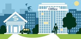 City business Stock Images