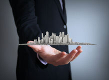 City business concept Royalty Free Stock Photography