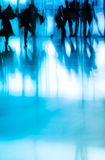 City business people abstract. Background blur motion Stock Photos