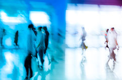 City business people abstract. Background blur motion Royalty Free Stock Image