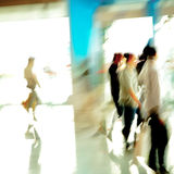 City business people abstract Stock Photography