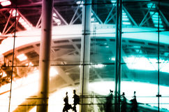 City business people abstract Royalty Free Stock Photography