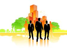 City Business Team Royalty Free Stock Images