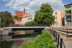 City of Bydgoszcz in Poland Stock Photos