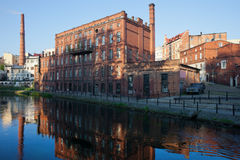 City of Bydgoszcz in Poland Royalty Free Stock Photos