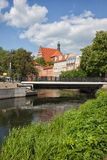 City of Bydgoszcz River View Stock Photography