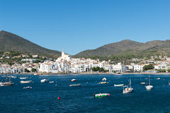 City of Cadaques Royalty Free Stock Images