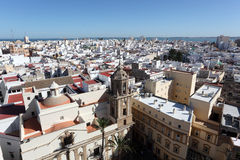 City of Cadiz, Andalusia Spain Royalty Free Stock Photos