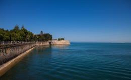 City of Cadiz wall Stock Photography