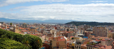 City of Cagliari Royalty Free Stock Photo