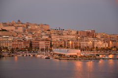 City of Cagliari, Sardinia, Italy Royalty Free Stock Photography