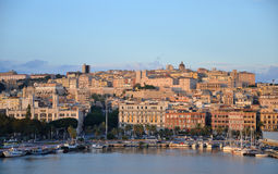 City of Cagliari, Sardinia, Italy Stock Images