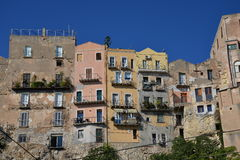 City of Cagliari, Sardinia, Italy. View of the old centre. Royalty Free Stock Photos