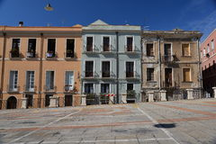City of Cagliari, Sardinia, Italy. View of the old centre. Stock Photo